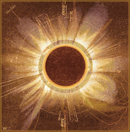 sunspot in 1857 secchi