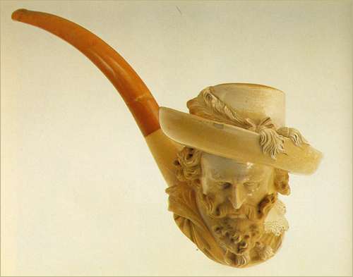 The German term probably has been used because German-speaking people controlled the meerschaum-pipe ... & The Meerschaum Pipe