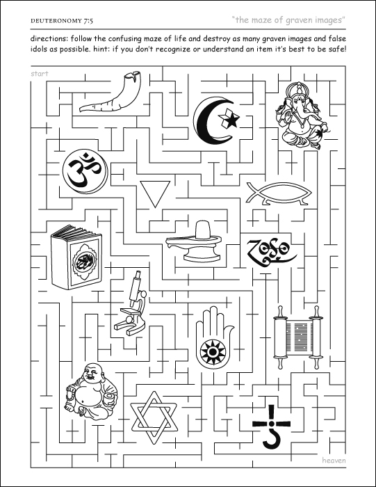 deuteronomy bible coloring pages - photo#25