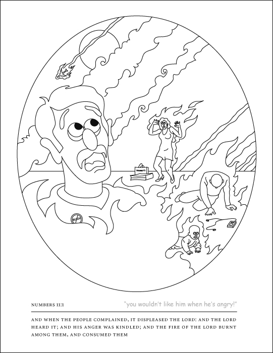 Free Coloring Pages Of Old Testament Books Of The Bible