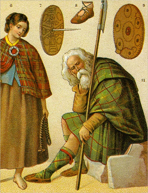 16Th Century Scottish Dress http://thenonist.com/index.php/thenonist/permalink/tartanry/
